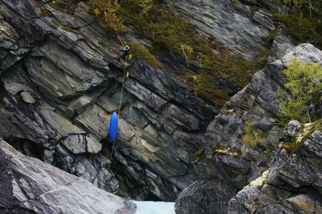 the abseil to the put-in makes things extra interesting
