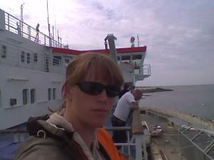 ferry home