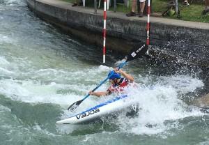 Jiri Prskavec on his storming final run