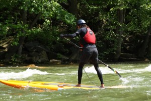 Surfing Ocoee River Style