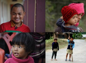 friendly Arunachal people