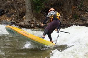 River Runner surfing