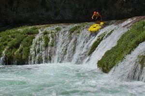 SUP waterfall